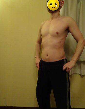 ダイエット前の体
