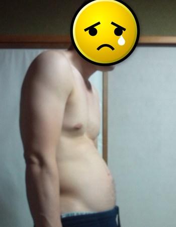 隠れ肥満体型